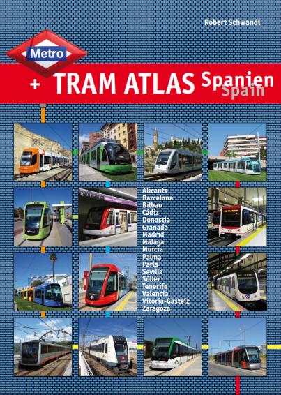 Metrp & Tram Atlas Spain
